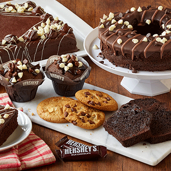 HERSHEY'S CAKES, COOKIES & FILLED MUFFINS